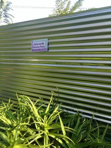 24. Hoarding fence